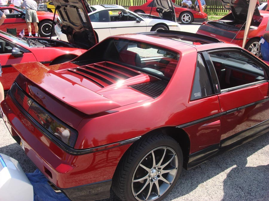 Fiero with louvers