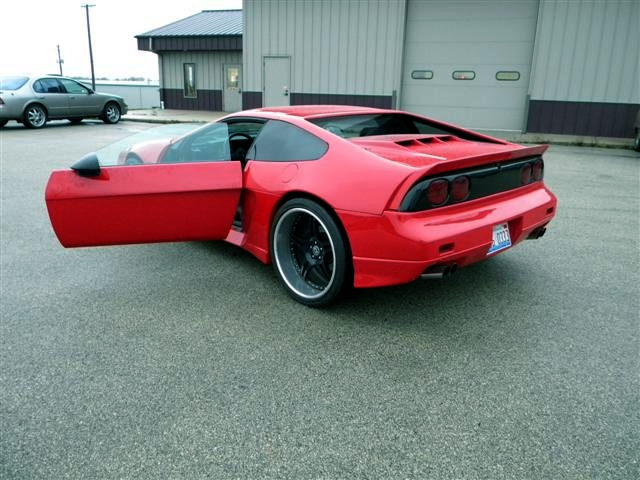 GT FIERO doors opened