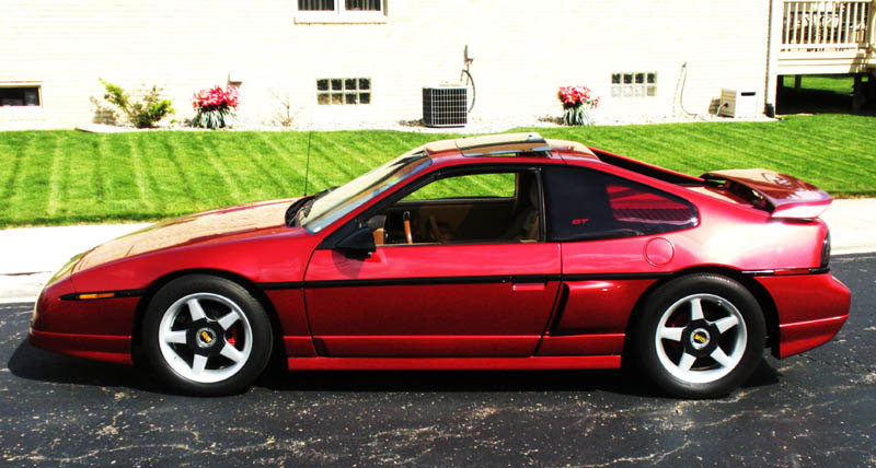 beautiful fiero gt