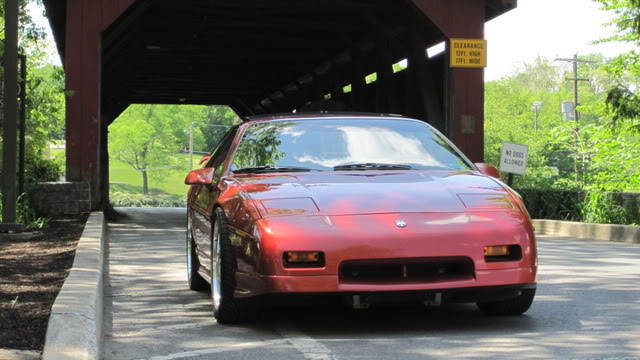 Sporty Red Fiero